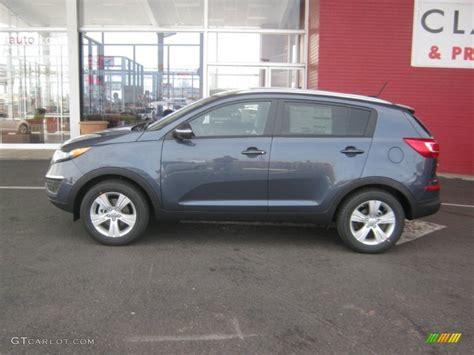 Kia Sportage Colours 2012 2012 Twilight Blue Kia Sportage Lx 61761532 Photo 2