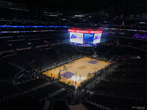 Staples Center Section 306 Clippers Lakers
