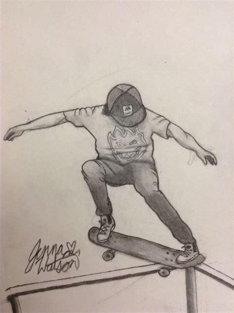 Skate Drawing