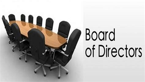 The Directors by 2017 Board Of Directors Stoney Glen West