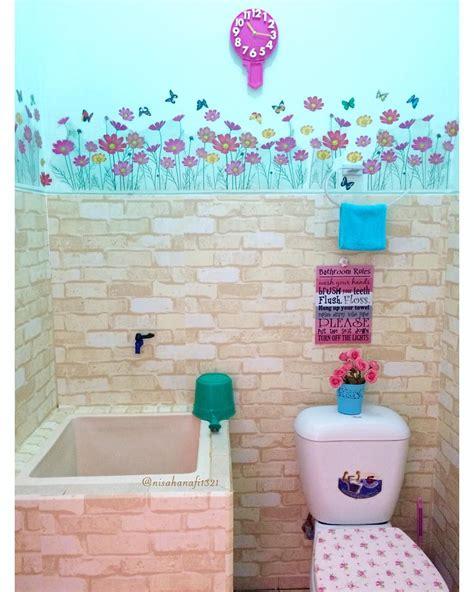 dekorasi kamar mandi biasa menjadi modern mewah dekorasi kamar mandi minimalis pinterest
