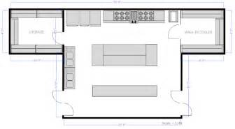 Open Kitchen Floor Plans For Restaurants Restaurant Floor Plan How To Create A Restaurant Floor Plan