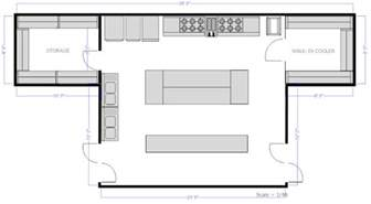 restaurant kitchen floor plans restaurant floor plan how to create a restaurant floor plan