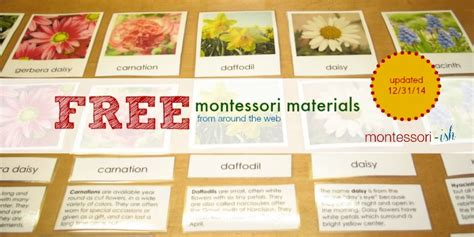 free montessori printable downloads free montessori materials