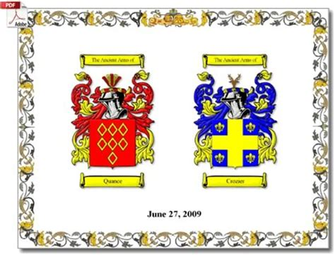 House Of Names by Family Crests And Coats Of Arms By House Of Names