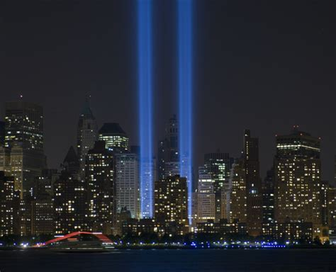 9 11 memorial lights remembering 9 11 in a different way