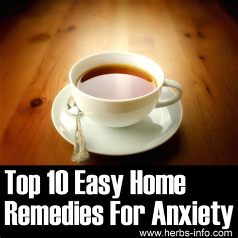 anxiety anxiety remedies
