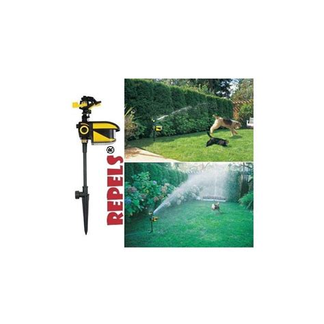 scarecrow automatic water sprinkler system birds repeller water spr
