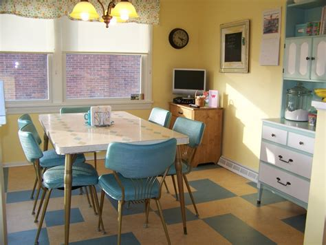 colorful vintage kitchen designs