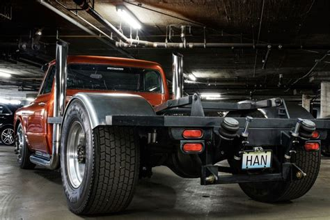 fast and furious unrealistic custom 1967 chevy truck from fast and furious is up for sale