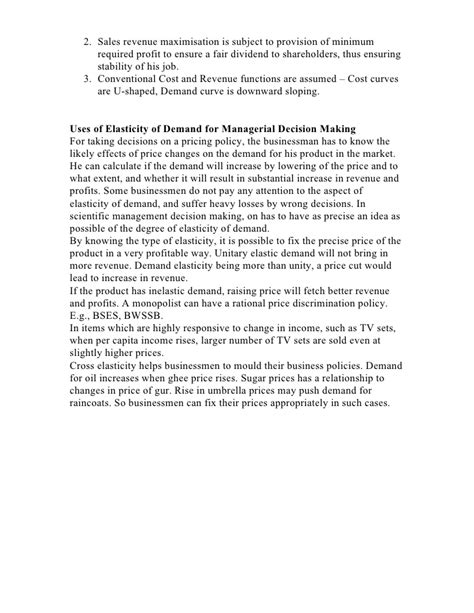 Managerial Economics Mba Projects by Managerial Economics Economics Mba