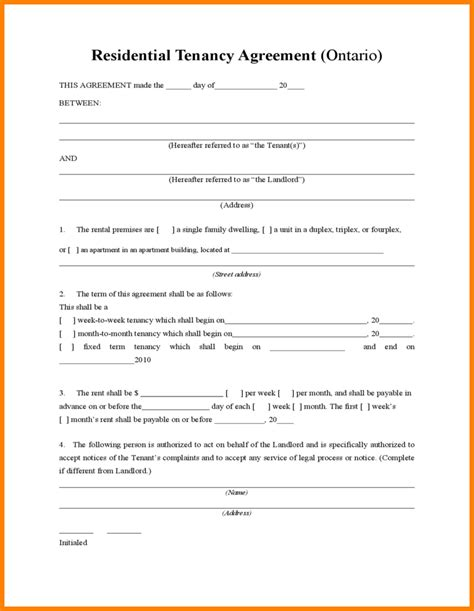 tenancy agreement template free cool inventory template for landlords images resume