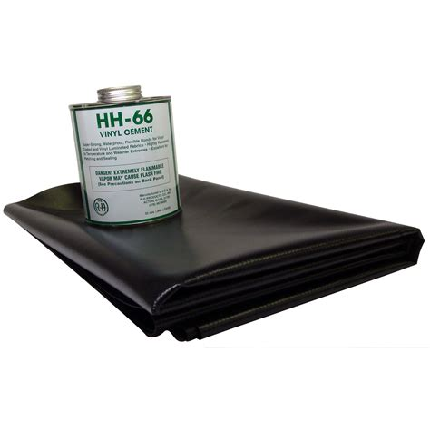 How To Fix A Vinyl by 18 5oz Vinyl Repair Patch Kit Black Ebay