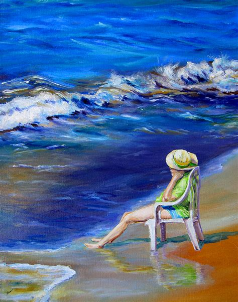 relaxing on the outer banks by diane kraudelt