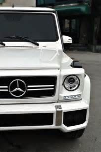 Mercedes G Class White But Everybody S Like Maybach Diamonds On Your