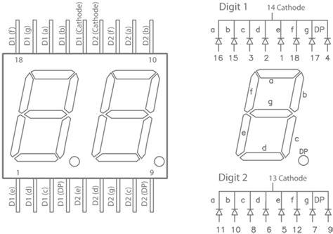 7 Segmen Seven Segment Led Display 1 Digit Common Cathode 056 ntc thermistor incubator part 3 integrating digits
