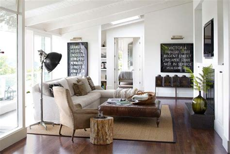 modern country living rooms how to blend modern and country styles within your home s