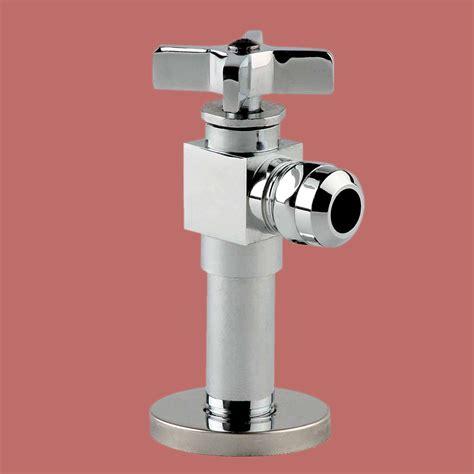toilet angle stop valve 1 2 quot fip 1 2 quot od heavy duty brass