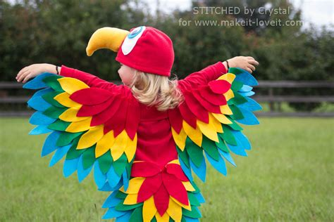 making it lovely parrot wings costume www pixshark com images galleries