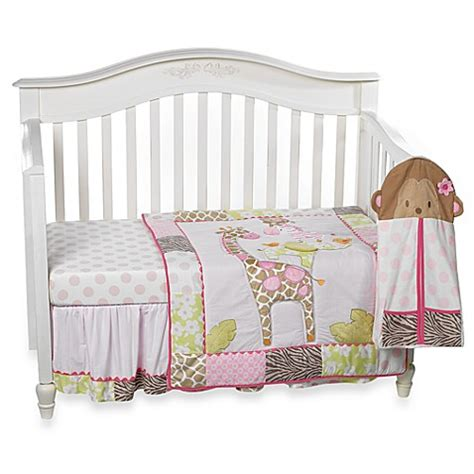 Carter S 174 Jungle Jill 4 Piece Crib Bedding Set Bed Bath Jungle Cot Bedding Sets
