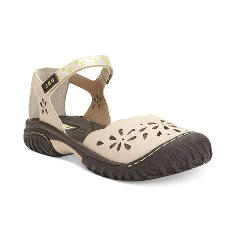 jambu sandals on sale jambu jbu sandals in beige lyst