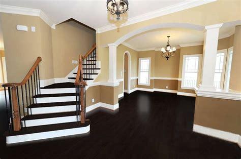espresso flooring home living room pinterest