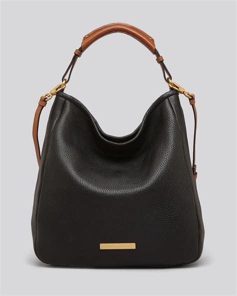 Marc Hobo by Marc By Marc Hobo Softy Saddle Large In Black Lyst