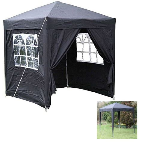 outdoor pop up gazebo panel windows curtains tent picnic