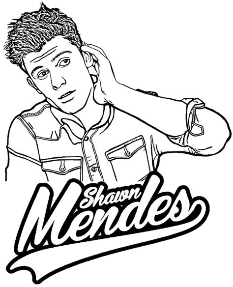 forever grayscale coloring book coloring book books shawn mendes free printable coloring page picture