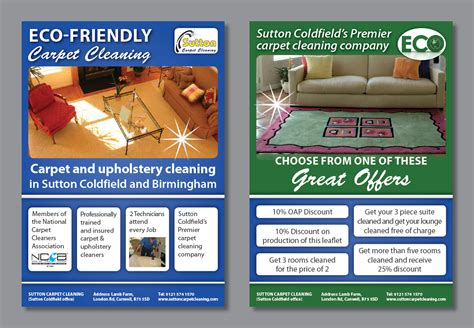 flyer design birmingham carpet cleaner sutton coldfield meze blog