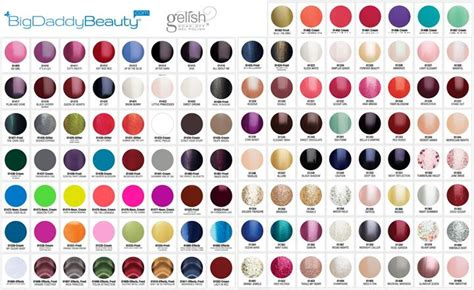 gelish colors gelish colors gelish swatches bigdaddybeauty