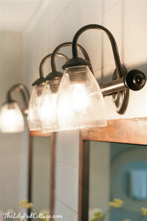 spray paint bathroom fixtures easy light swap sprays cottages and painted light fixtures