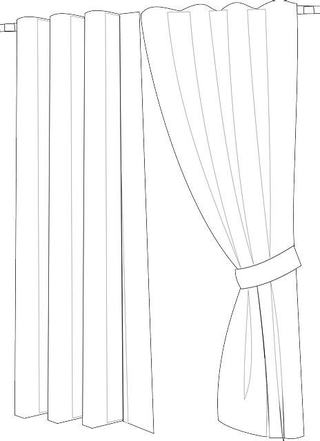 Vorhänge Transparent Muster kostenlose vektorgrafik vorh 228 nge drapierung stoff