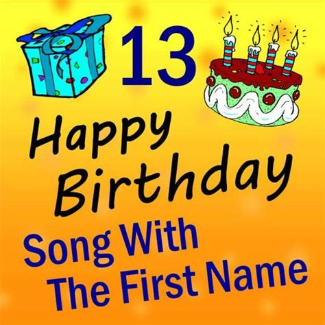 happy birthday to you song with the first name vol 13