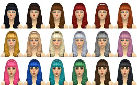 sims 4 blog ts3 nappy fros hair conversions for males by ebonixsimblr my sims 4 blog ts3 gwen hair conversion for females by