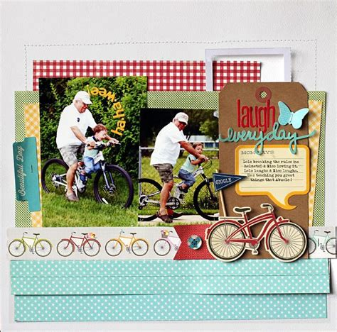 scrapbook layout cycling 1000 images about bike scrapbook on pinterest bikes