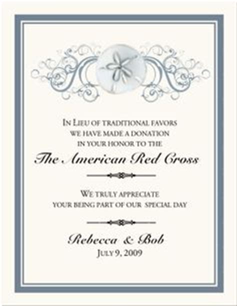 Donation Letter In Lieu Of Flowers Inspiring Ideas On Favors Wedding Favors And In Memory Of