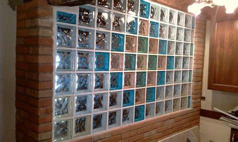 mattoni in vetro per interni vetrocemento foto design mag