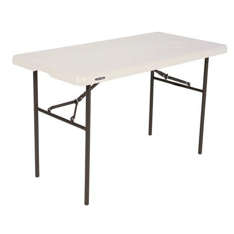 lifetime 4ft standard mould trestle table bunnings