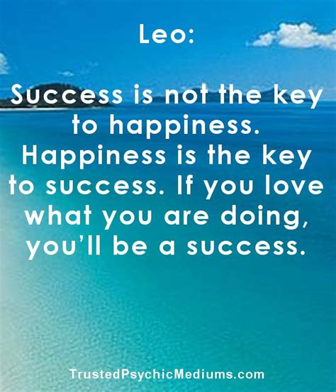 quote about leo sign