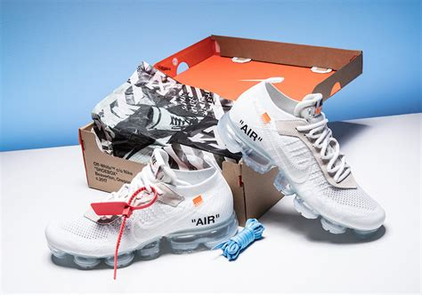 Offwhite 100 Original white nike air vapormax white aa3831 100 sneaker bar