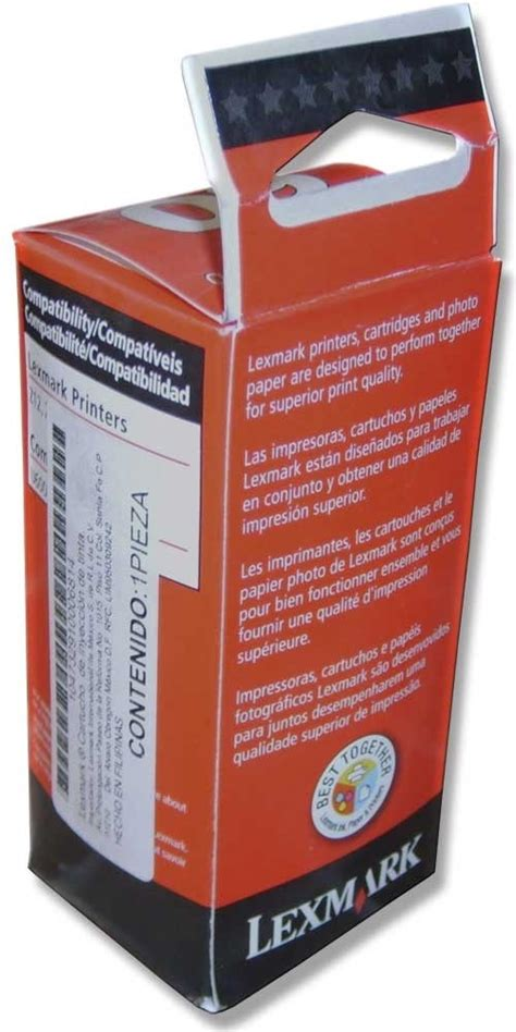 Tinta Lexmark 17 Compaq Black Original cartucho tinta lexmark 60 color 17g0060 original 599
