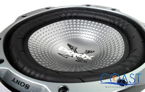 Speaker Aktif Sony Xplod sony xs gtr100l single 10 quot 1200w 4 ohm car subwoofer xplod series ebay