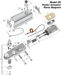 trailer brake actuator installation instructions and