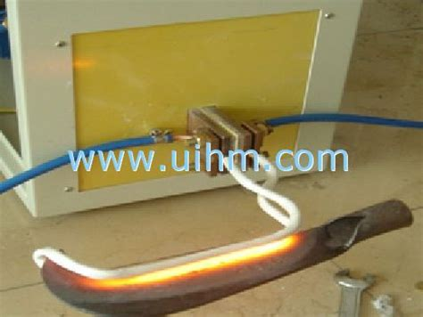 induction heat knife induction hardening knife united induction heating machine limited of china