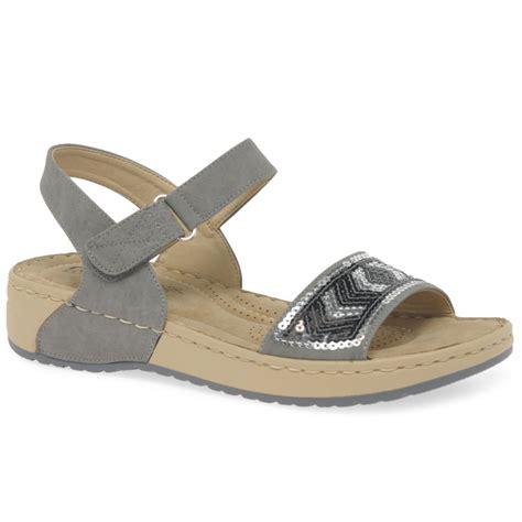 Sandal Wanita Trendy Garsel L 360 rieker strobe womens casual sandals charles clinkard