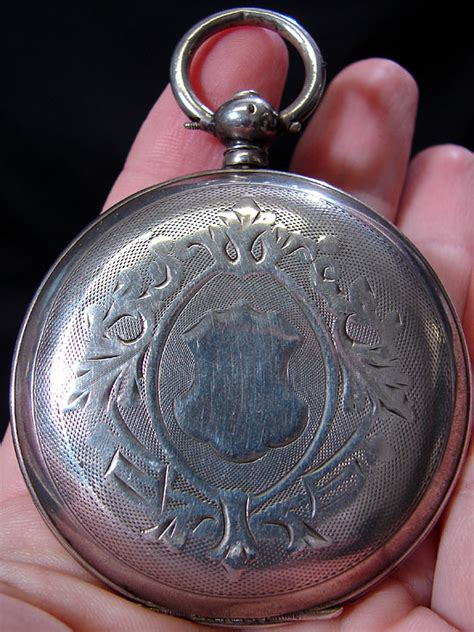 antique russian silver pocket can you help