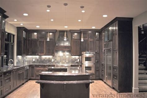 kitchen   shaped island