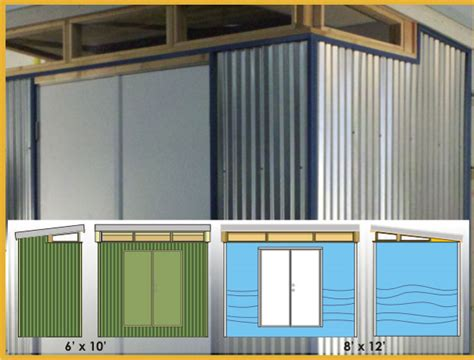 Modern Shed Company by Shed Blueprints Modern Backyard Shed Designs