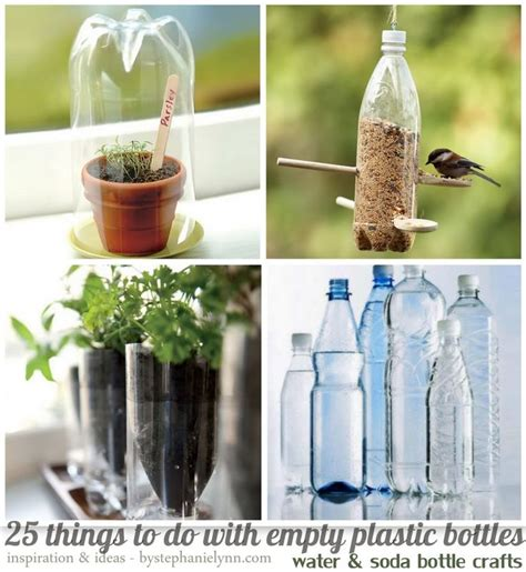 soda bottle crafts for 25 things to do with empty plastic bottles water soda